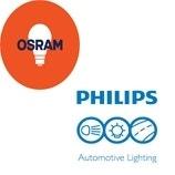 Philips en Osram Xenon lampen