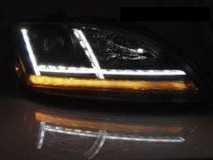 Audi TT 8J 06-10 Chrome Edition LED koplamp units
