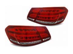 Mercedes W212 09-13 LED achterlicht units met dynamisch knipperlicht Red White