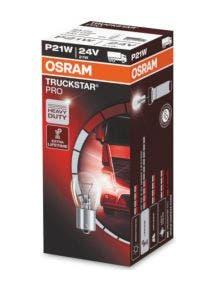 Osram TruckStar Pro 24v BA15s-P21W 7511TSP 10 lampen
