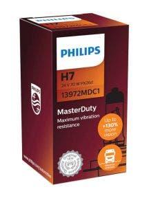 Philips MasterDuty H7 24v 70w 13972MDC1