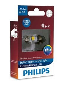 Philips X-tremeUltinon LED C5W 38mm 24v 249446000KX1