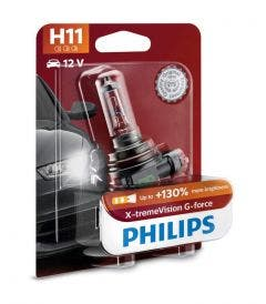 Philips X-tremeVision G-force H11 12362XVGB1 enkele lamp