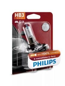 Philips X-tremeVision G-force HB3 9005XVGB1 enkele lamp