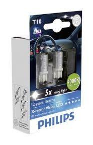 Philips X-tremeVision LED W5W-T10 129644000KX2