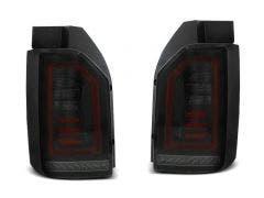 VW T6 LED achterlicht units met dynamisch knipperlicht Smoke Black