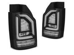 VW T6 LED achterlicht units met dynamisch knipperlicht Black edition