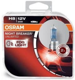 OSRAM Night Breaker Unlimited H8 35W 64212NBU-HCB