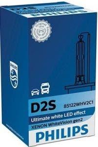 Philips WhiteVision Xenon vervangingslamp GEN2 D2S 85122WHV2C1 2e Kans