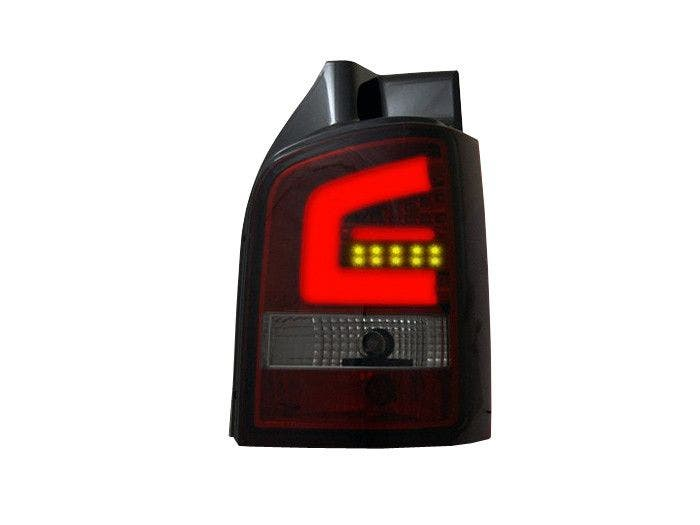 LED-achterlicht-unit-VW-T5 RedSmoke-on
