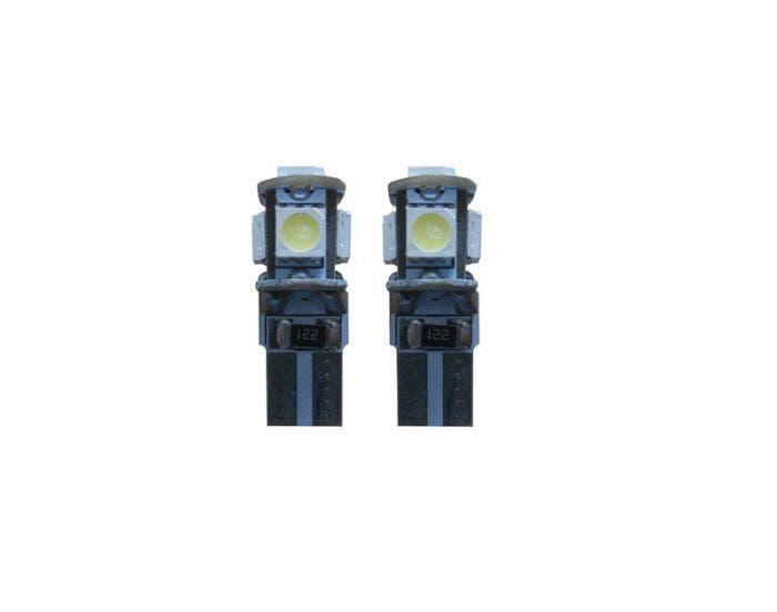 Canbus LED 5 SMD W5W binnenverlichting blauw