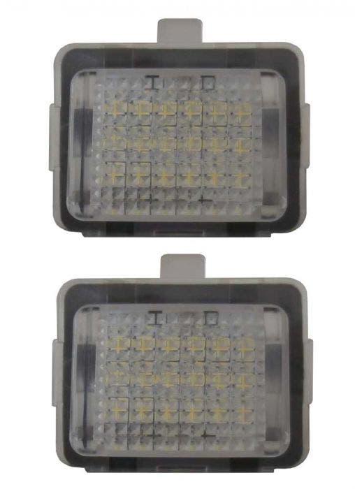Mercedes-LED-kentekenverlichting
