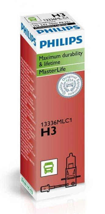 Philips Masterlife Blister 24V H3 13336MLC1
