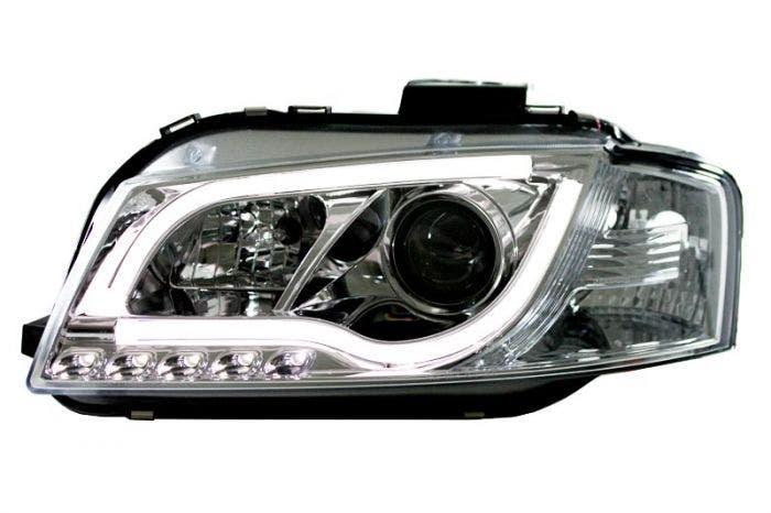 LED-koplamp-unit-Audi-A3-8P-Chrome
