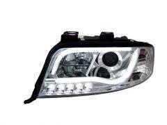 LED koplamp unit geschikt voor Audi A6 (C5 FL) Chrome