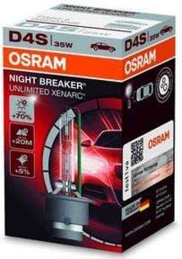 Osram Xenon Night Breaker Unlimited D4S 1 Lamp