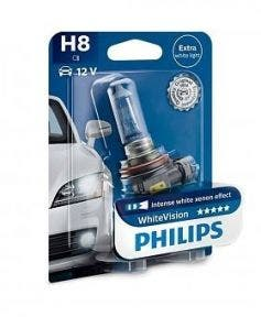 Philips WhiteVision 3500k blister 1 lamp - H8