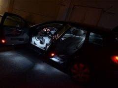 Audi A4 B6 sedan LED binnenverlichtingspakket - Extra-pakket