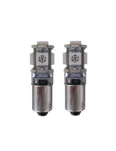 5 SMD H6W LED binnenverlichting-wit