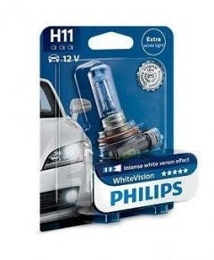Philips WhiteVision 3800k blister 1 lamp - H11
