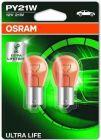 Osram Ultra Life PY21W/BAU15S Oranje