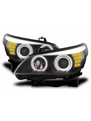 LED koplamp unit Black geschikt voor BMW E60/E61