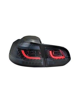 LED achterlicht unit VW Golf 6 Red Smoke V2