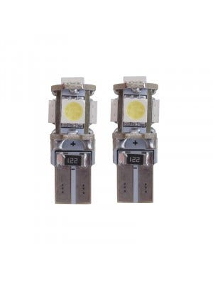 5 SMD CANBUS LED W5W T10 Geel