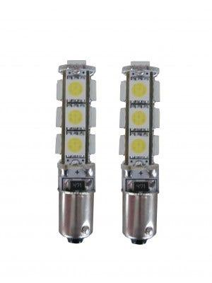 13 SMD CANBUS LED Stadslicht BA9S - 10000k