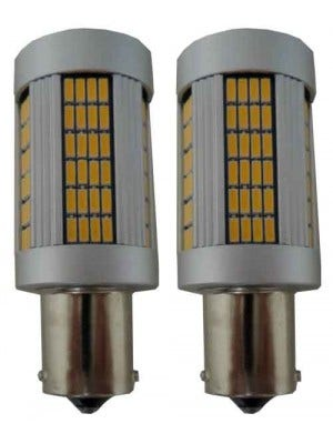 Canbus HP LED Knipperlicht BAU15S-Oranje