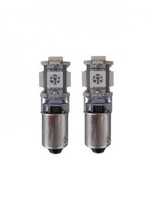 5 SMD BA9s LED binnenverlichting-wit