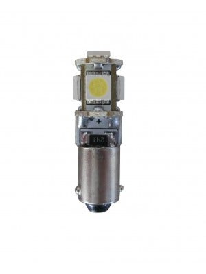 Xenon Look stadslicht motor 5 SMD LED - BA9s - wit