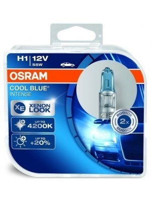 Osram Halogeen Cool Blue Intens - H1 set