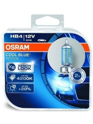 Osram Halogeen Cool Blue Intens - HB4-Set