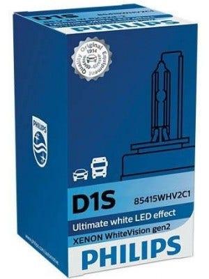 Philips WhiteVision Xenon GEN2 D1S 85415WHVS1 / -C1