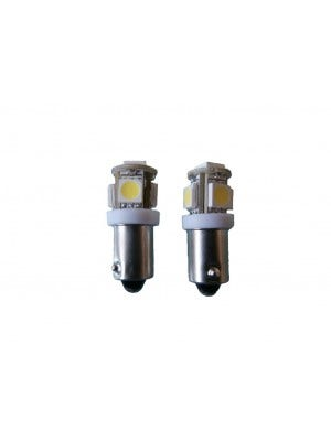 5 SMD Canbus LED binnenverlichting BA9s - wit