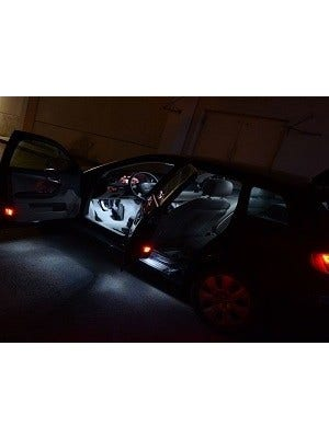 Audi A4 B6 sedan LED binnenverlichtingspakket - Plus-pakket