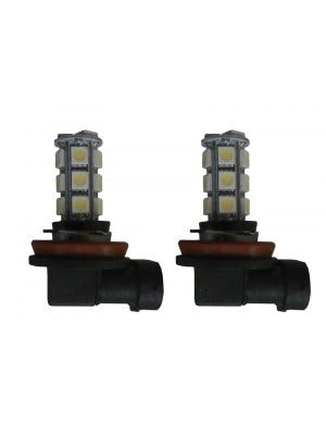 LED vervangingslamp - H27 / (881) - Wit