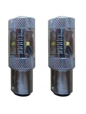 30w Canbus LED dagrijverlichting vervangingslamp - BAY15d wit