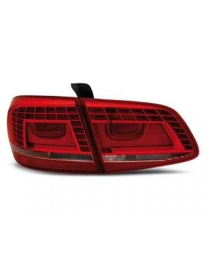 VW Passat B7 Red Clear Achterlicht LED Unit