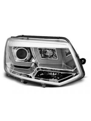 VW T5 U Type Chrome LED Unit