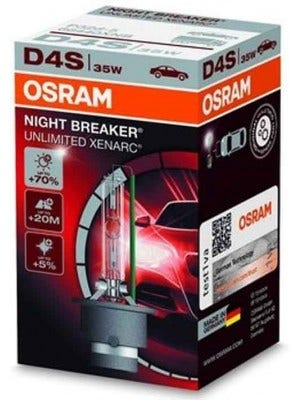 Osram Xenon Night Breaker Unlimited D4S 1 Lamp