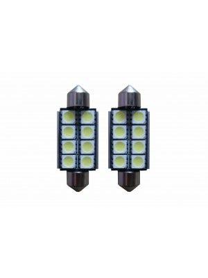 Canbus-8-SMD LED-binnenverlichting-41mm