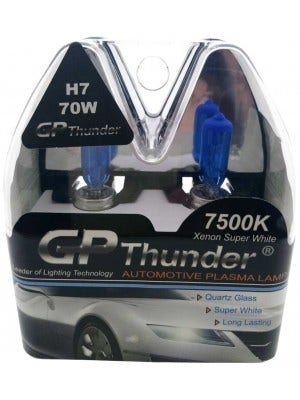 GP Thunder Xenon Look - cool white-7500k-H7-70w