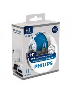 Philips WhiteVision Set H1 incl 2 W5W