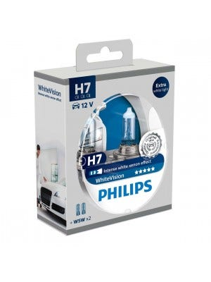 Philips WhiteVision Set H7 incl 2 W5W