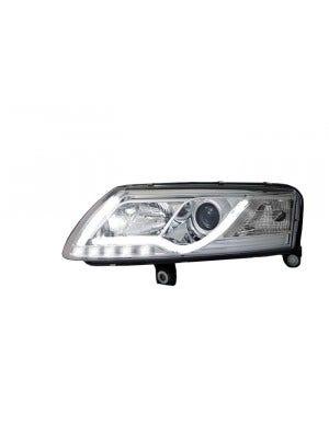 LED-koplamp-unit-Audi-A6-Chrome