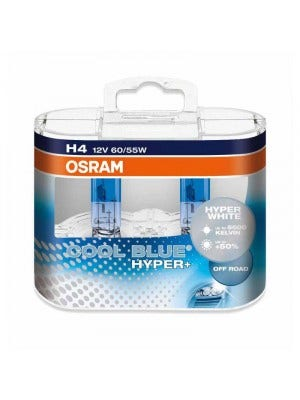 Osram Halogeen Cool Blue Hyper+ - H4lamp