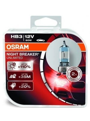 Osram Night Breaker Unlimited HB3 9005NBU