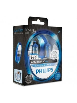 Philips ColorVision Blauw - H7